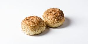 Picture of White Sandwich Round Sesame