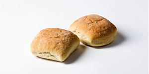 Picture of White Sandwich Square Roll Regular