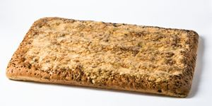 "Picture of Focaccia Olive Sheet 1"" Thick"