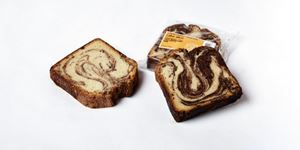 Picture of Pound Cake Marble Chocolate Slice