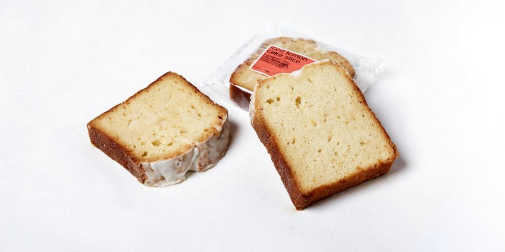 Picture of Pound Cake Lemon Iced Slice
