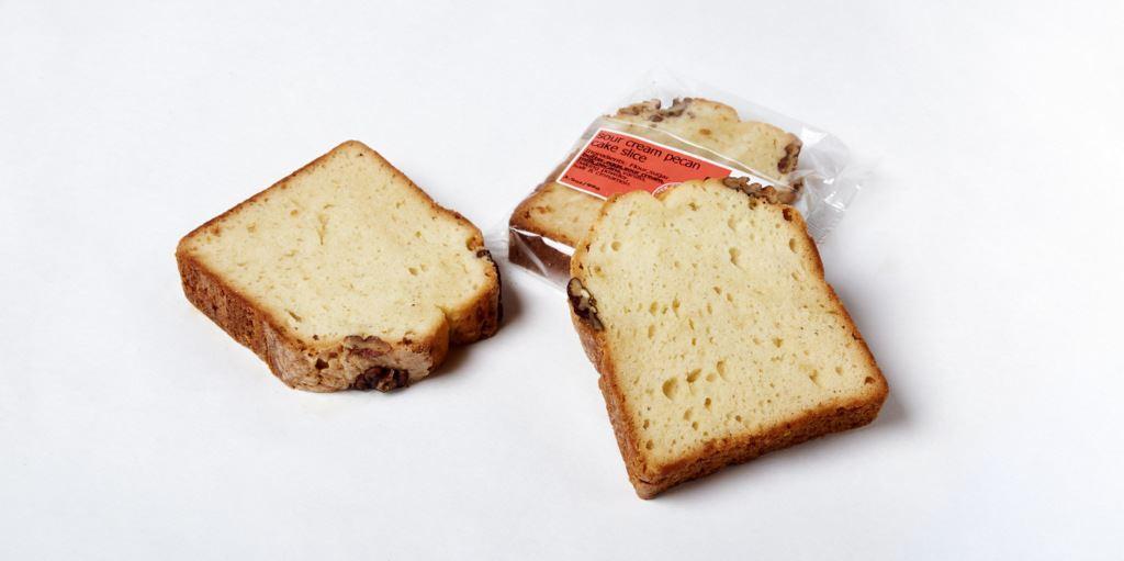 Picture of Pound Cake Sour Cream Pecan Slice